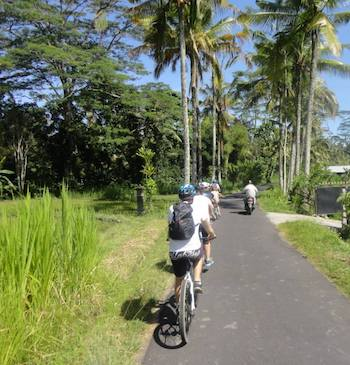 Bali Family Cycling Tour