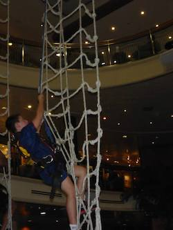 Rope Climb on a Cruise