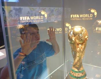 FIFA Museum World Cup Trophy
