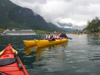 Kayak Olden Norway