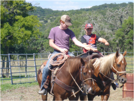 Dixie Dude Ranch Riding Lesson