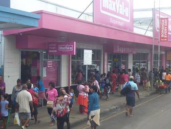 Suva Busy Shops